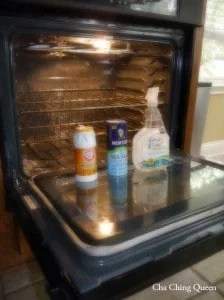 Natural Oven Cleaner without chemicals