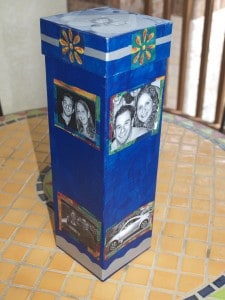 DIY Gift Ideas - Personalized Decorated Boxes for Mother's Day, Father's Day, More