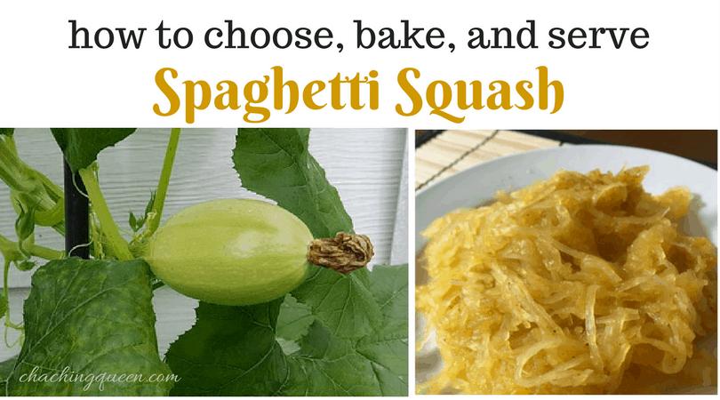 how to bake spaghetti squash and spaghetti squash recipes