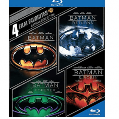 Blu-Ray Batman Collection Amazing Deal! (Batman / Batman Returns / Batman Forever / Batman & Robin)