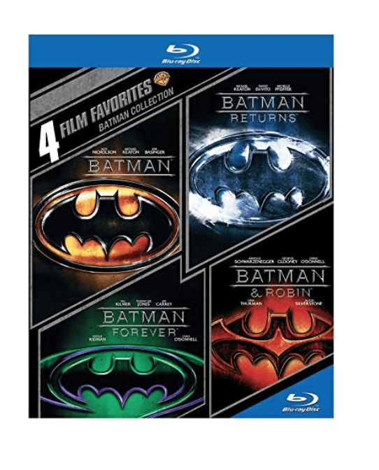 Blu-Ray Batman Collection Amazing Deal! (Batman : Batman Returns : Batman Forever : Batman & Robin)