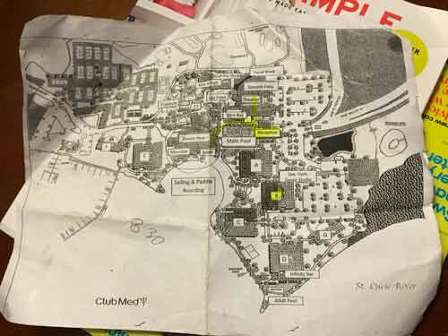 map of club med sandpiper bay florida all inclusive resort