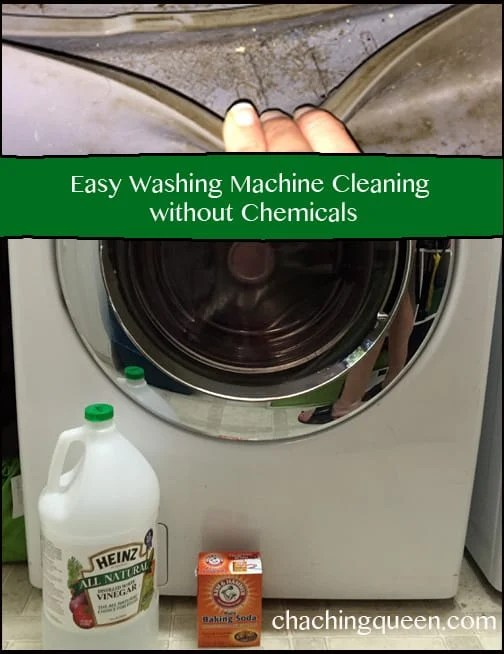 How to Clean Your Washing Machine Without Chemicals, Non-toxic Easy Washing Machine Cleaning