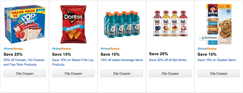 amazon clipable coupons grocery 2016