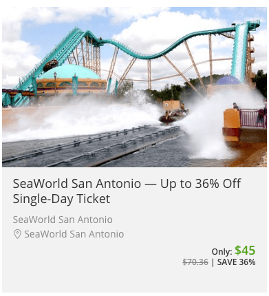 sea world san antonio coupon groupon discount 2016