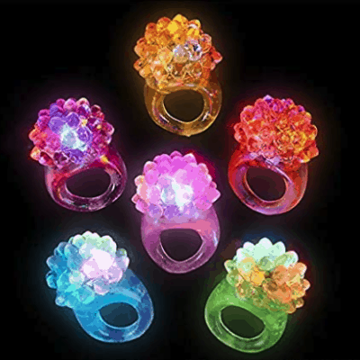 Deal on Flashing LED Rings – Great for Halloween!