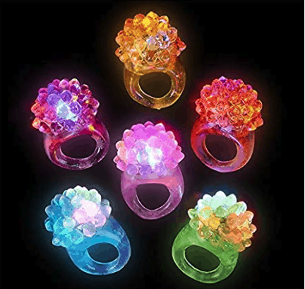 Deal on Flashing LED Rings