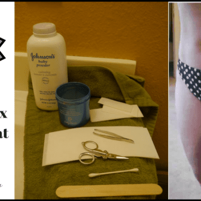 How to do a Face, Bikini, or Brazilian Wax at Home