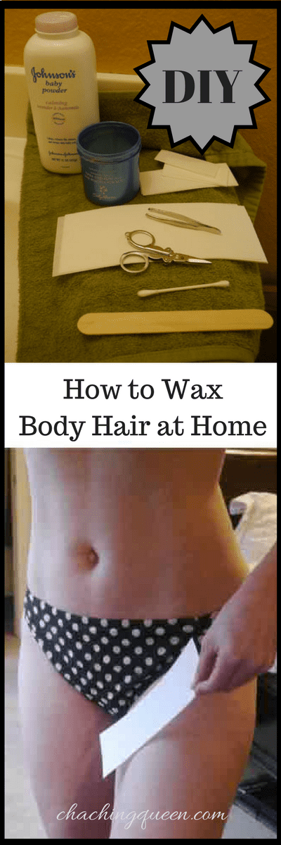 DIY Waxing - How to Wax Body Hair at Home