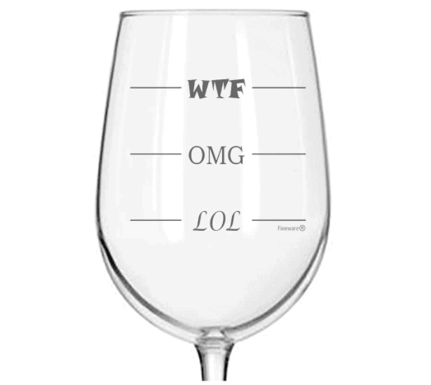 Finally a Wine Glass for Every Mood!