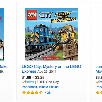 LEGO Books Discounted