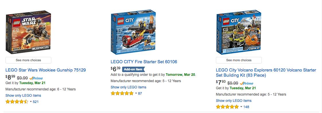 LEGO Deals - LEGO Sets Under $10