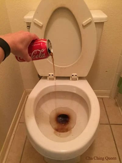 Clean a Toilet with Coke or Cola