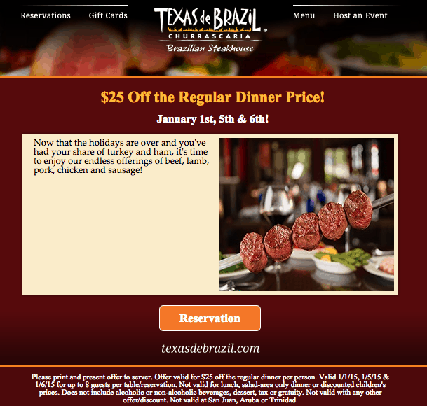 texas de brazil coupon january 2015