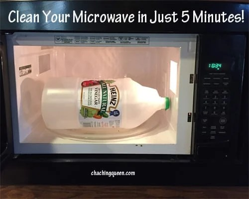 Clean in just Minutes Using Vinegar