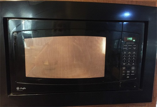 steam cleaning microwave