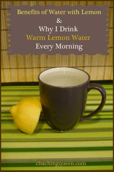 Benefits of Lemon Water - Why I Drink Warm Lemon Water