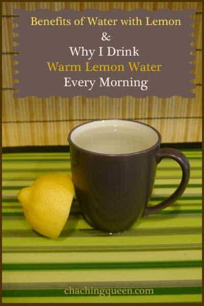 Benefits of Lemon Water - Why I Drink Warm Lemon Water