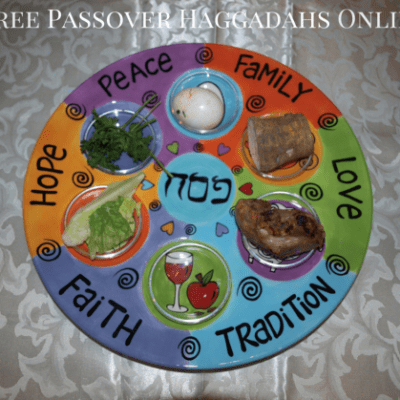 Make Your Own Passover Seder Plate – Free Passover Seder Plate templates and instructions