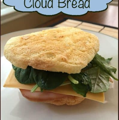 Dairy Free, Gluten Free Cloud Bread Recipe