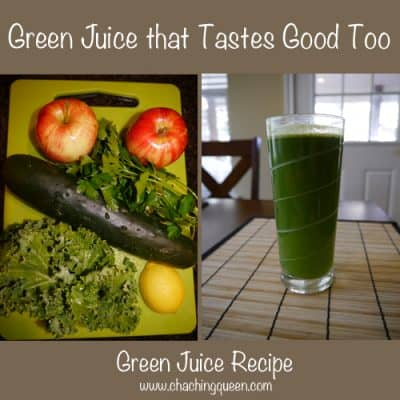 Green Juice that Tastes Good Too – Green Juice Recipe