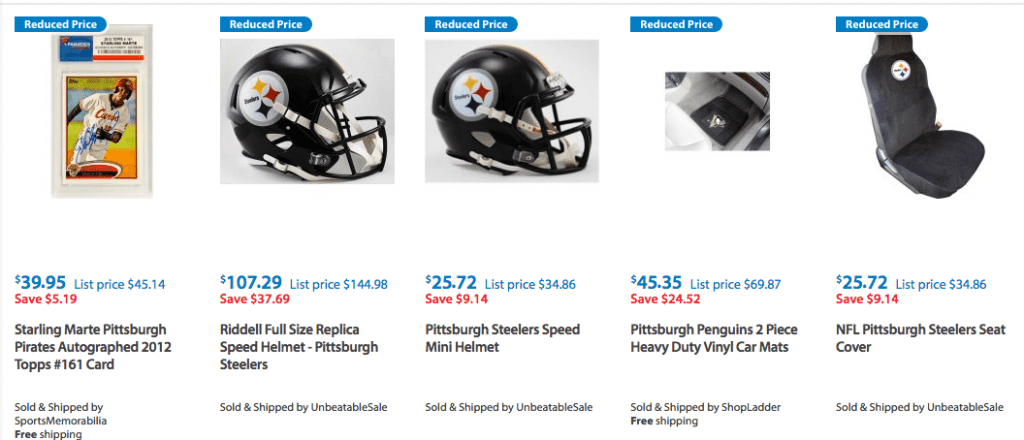 Pittsburgh Steelers Clothes Discounted and on Clearance walmart