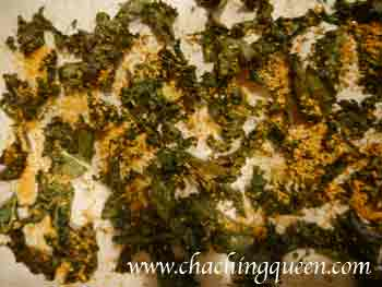 baked kale with bread crumbs recipe