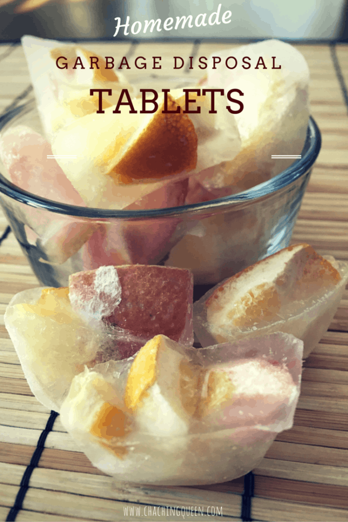 Homemade Garbage Disposal Cleaner Tablets