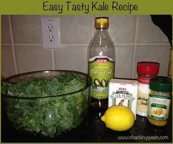 Easy Tasty Kale Recipe with many options