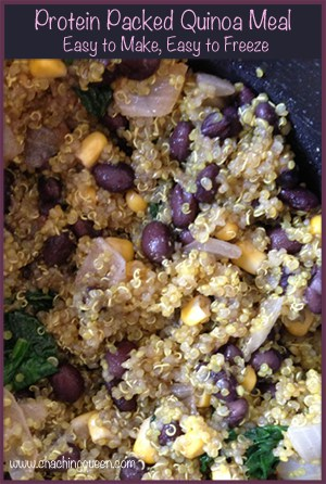 Protein Packed Quinoa Meal – Easy to Make, Easy to Freeze