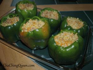 Stuffed Bell Peppers Easy Recipe