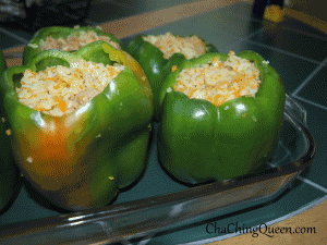 Stuffed Bell Peppers Easy Recipe Good For Freezing