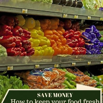 How to keep your food fresh, last longer, and save money