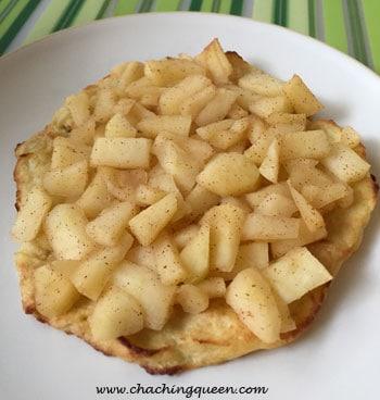 Paleo Gluten Free Cauliflower Pie with Apples Recipe