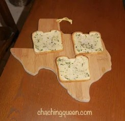Savory Texas Toast Recipe from a Native Texan Crispy garlicky buttery bread that melts in your mouth