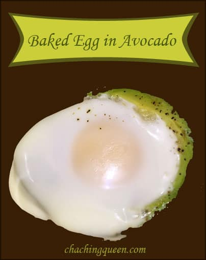 Baked Egg in Avocado Recipe - Gluten Free Paleo Breakfast