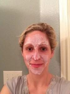elmers glue facial glue face mask