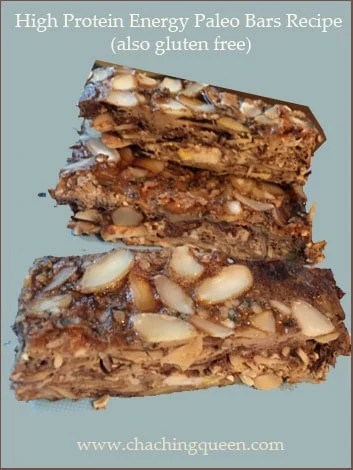High Protein Energy Bars Paleo and Gluten Free Recipe