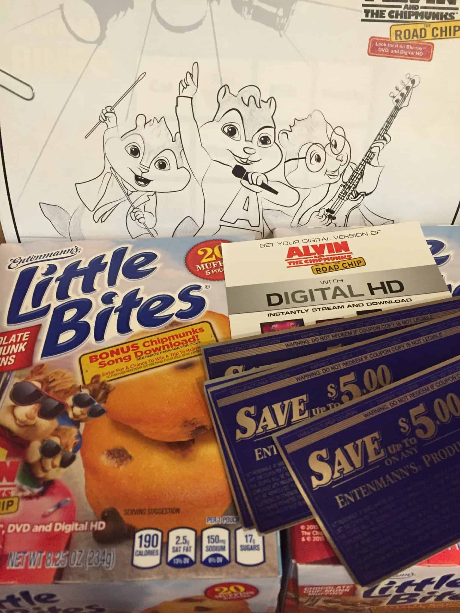 giveaway entenmanns little bites alvin and the chipmunks road chip snacks box