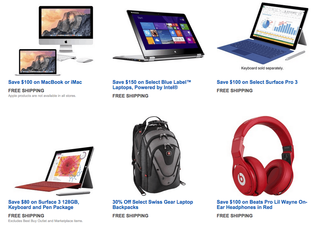 Special Discounts, Deals, and Coupons for College Students from Best Buy