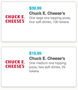 chuck e cheese discounts