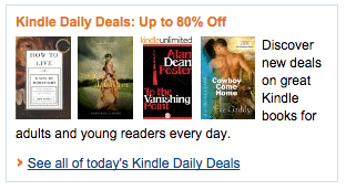 Kindle Books Daily Deals Discounts ebooks