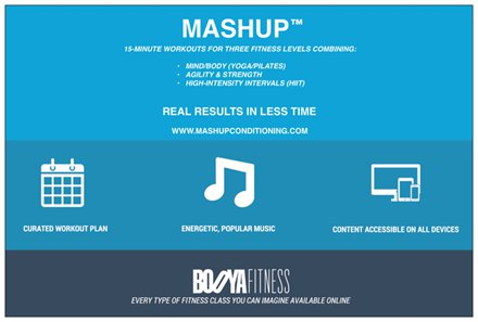 booya mashup digital workouts