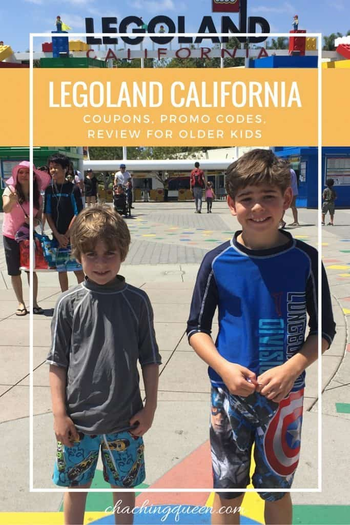 Legoland California Coupons Codes Review For Older Kids and Families