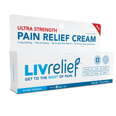 LivRelief Natural Pain Relief Cream Review + Coupon