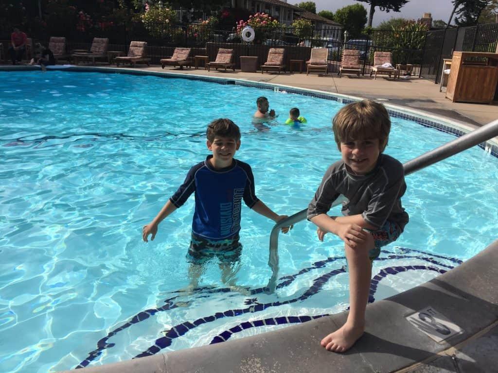 Review - Casa Munras Garden Hotel & Spa Monterey, California pool