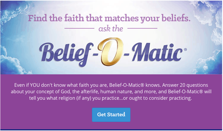 what religion am i quiz