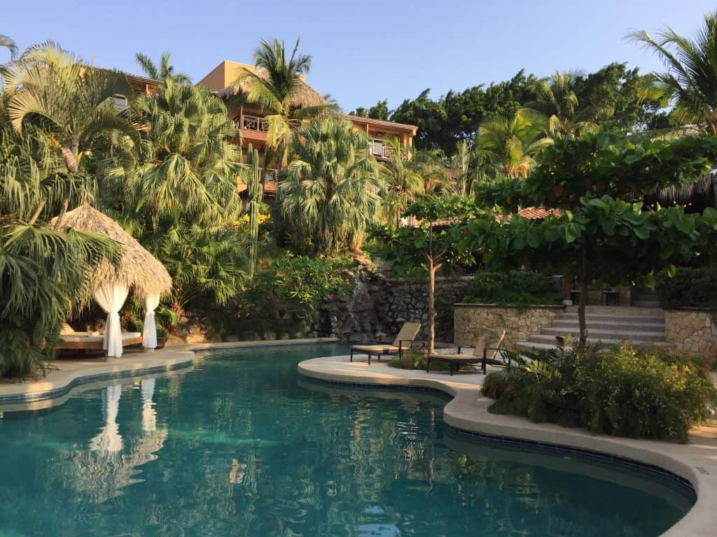 Jardin del Eden hotel review costa rica pool image