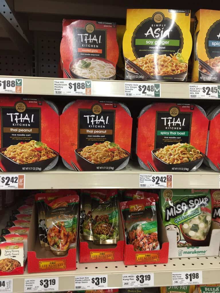 thai kitchen prepared noodle bowls prices at heb