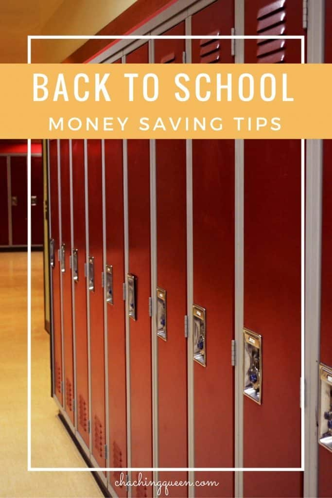 how to save money on back to school shopping - Money Saving Tips for Families